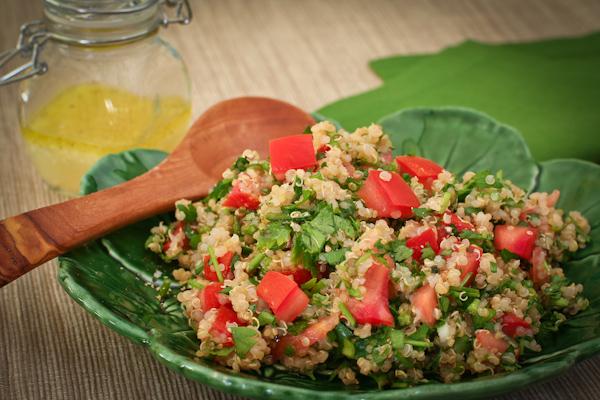Gluten- free Quinoa Tabouli