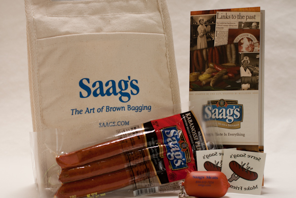 Saags sausage giveaway