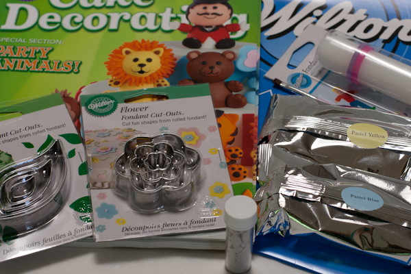 Wilton icing giveaway items