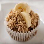 Roasted Banana Mochi Cupcake Gluten-free Vegan