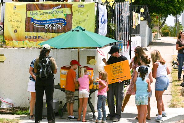 Alexs Lemonade Stand pediatric cancer fundraiser