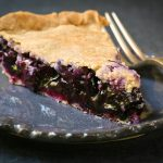 Blueberry Pie gluten-free sugarfree healthy recipe