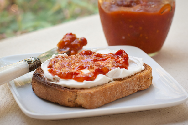 Sugar-free tomato-onion jam
