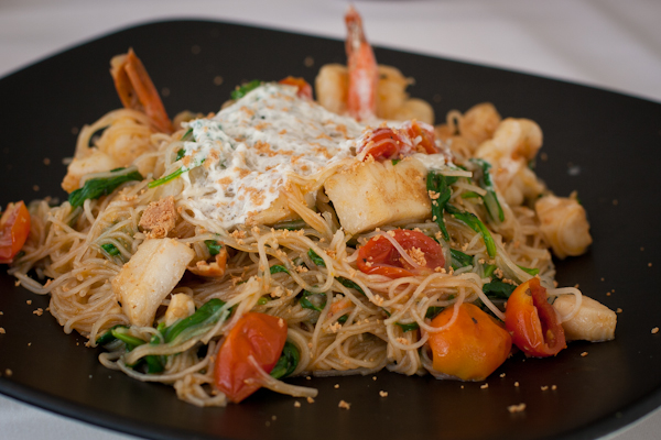 Bice Ristorante | Angel-hair pasta with seafood