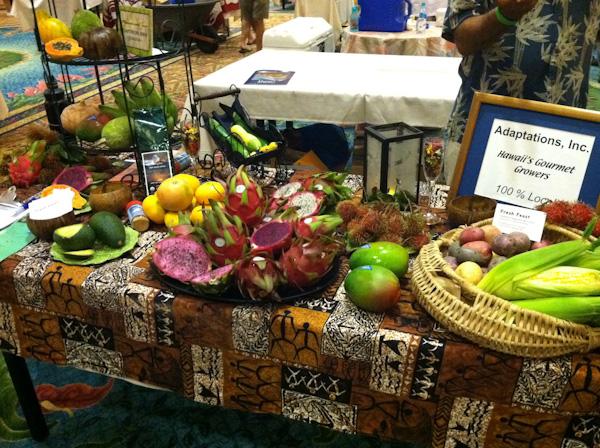 Hawai'ian produce display