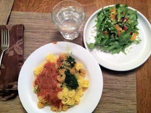 travel dinner glutenfree