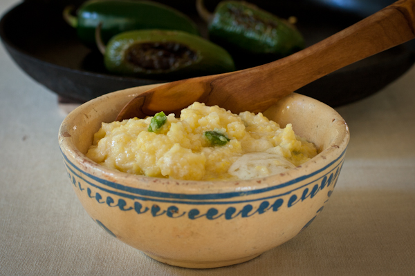 Roasted jalapeño cheese grits | Hawai'i Food & Wine Festival