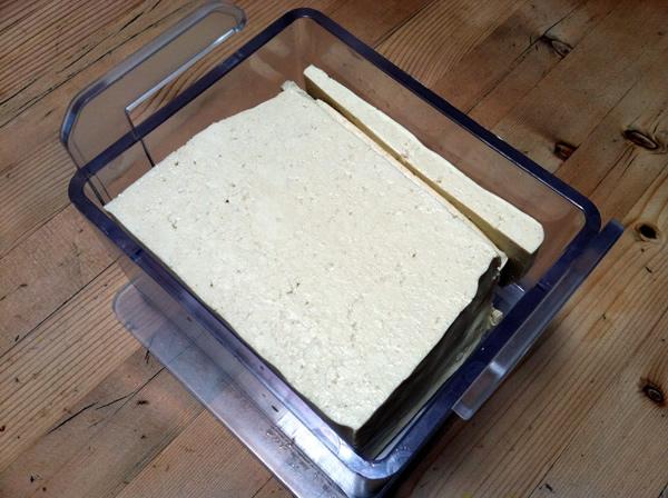 TofuXpress loaded with tofu