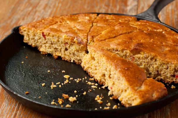 Gluten-free cornbread | Jalapeño-onion cornbread recipe