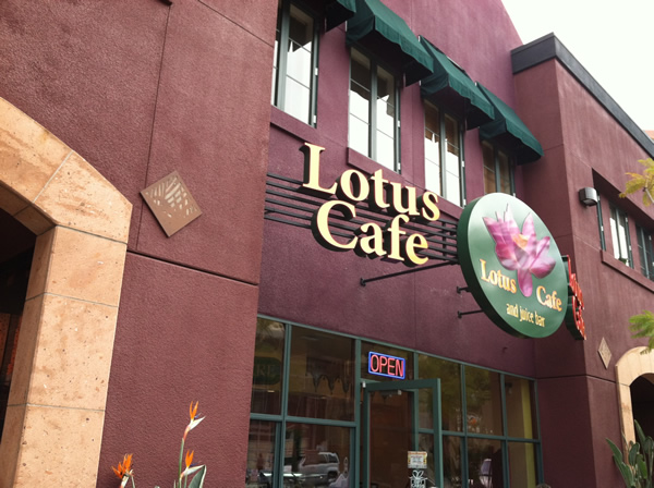 Exterior of Lotus Cafe in Hillcrest