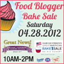San Diego Food Blogger bake sale