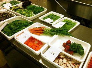 Salad Quiz in the Dole lab