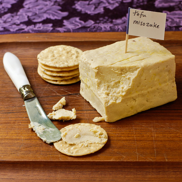 Turn a block of firm tofu into incredible, spreadable cheese! Low tech ...