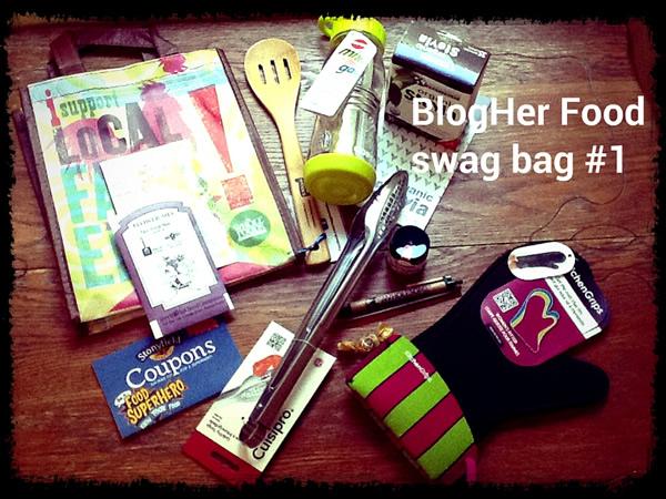 Reader giveaway swag bag