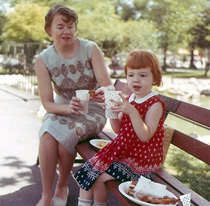 Me and mom in 1965
