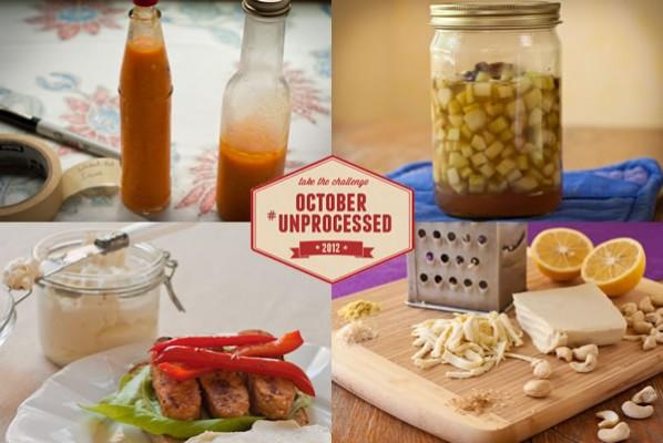 October Unprocessed Week 5: Condiments & Staples