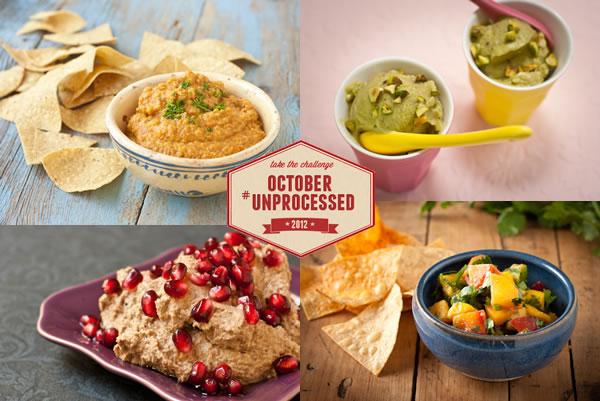 October Unprocessed Snacks Week