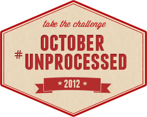 October Unprocessed 2012 logo