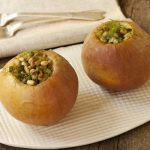 Baked Apples with pine nuts and fennel