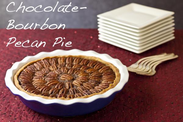Healthy Chocolate Bourbon Pecan Pie from Recipe Renovator