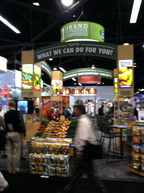 Produce Marketing Association's Fresh Summit exhibit hall