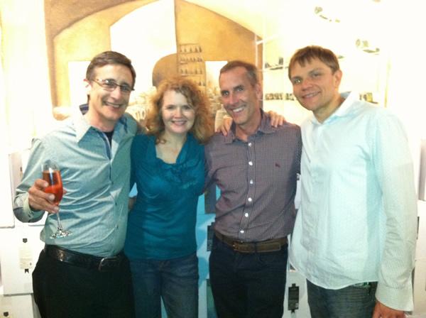 Jack Abbott, me, Kent McIntosh, Mark Tomaszewicz