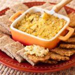 Caramelized Onion and Artichoke Onion Dip | Vegan | Gluten-free