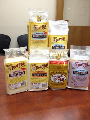 Reader sweepstakes: Gluten-free Baking for Dummies + kitchen scale + Bob's Red Mill flour pack