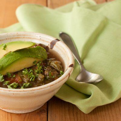 Detox veggie soup