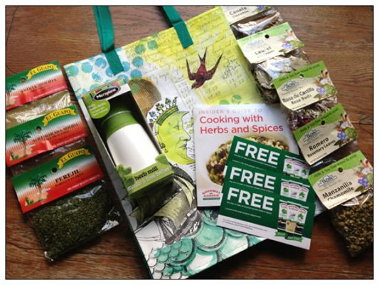 Reader sweepstakes: All About Herbs swag bag