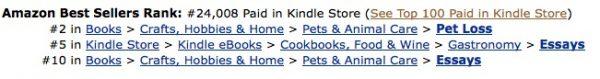 Amazon sales rank 2013-03-23