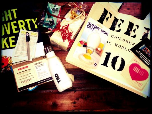 Reader sweepstakes: TED conference swag bag #1