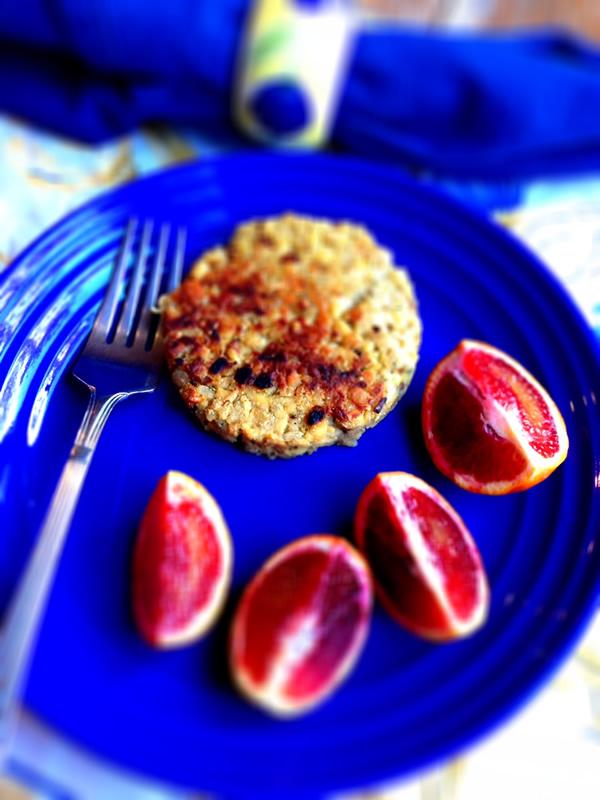 Tempeh Sausage Patty from Karma Chow Cookbook | Recipe Renovator