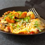 Tuscan baked polenta