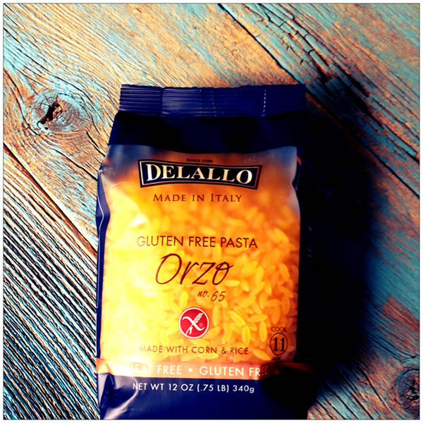 Delallo Gluten-free Orzo Package
