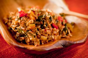 Dirty rice for Meatless Monday on Recipe Renovator