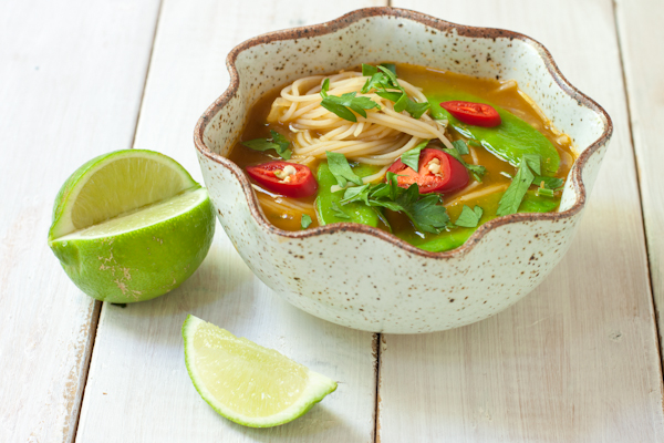 Asian Noodle Soup | Fresh 20 Cookbook review on Recipe Renovator