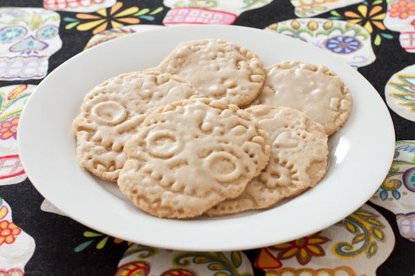 Glazed Dia de los Muertos Cookies | Gluten-free & Vegan | Recipe Renovator