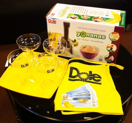 October reader sweepstakes: Dole Party Pack plus 5 cookbooks