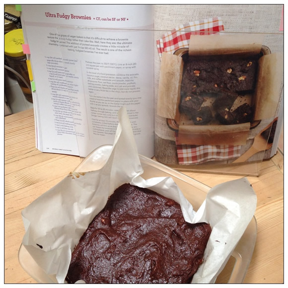 Ultra Fudgy Brownies  from Naturally Sweet and Gluten-Free | Recipe Renovator