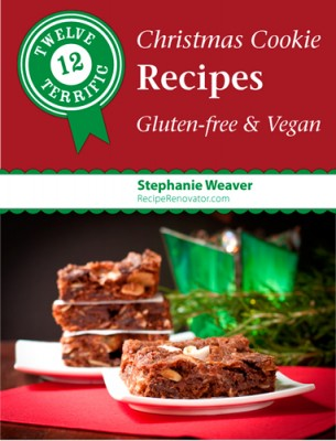 Twelve Terrific Christmas Cookie Recipes e-book is out!