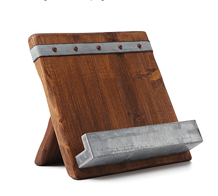 November readers' sweepstakes: 5 books plus handcrafted cookbook stand from Uncommon Goods