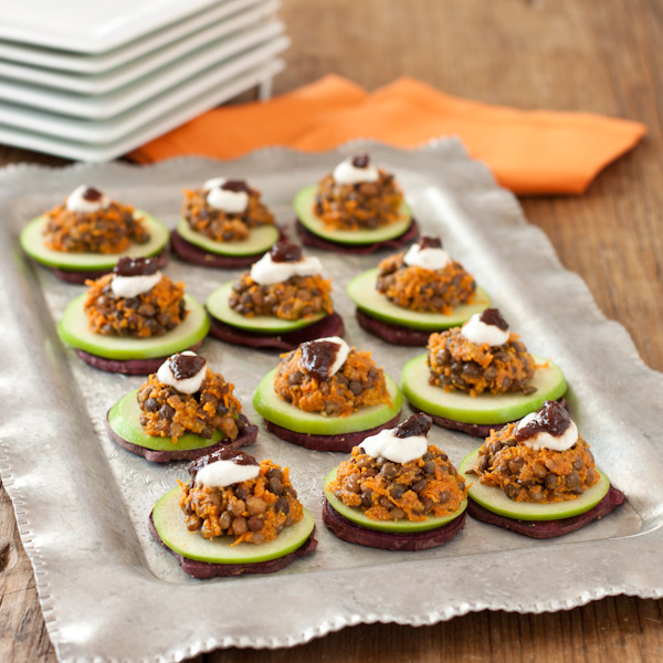 Curried sweet potato stacks | Gluten-free & Vegan | Recipe Renovator