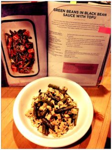 Green Beans in Black Bean Sauce with Tofu from Vegan Slow Cooking for Two review by Recipe Renovator