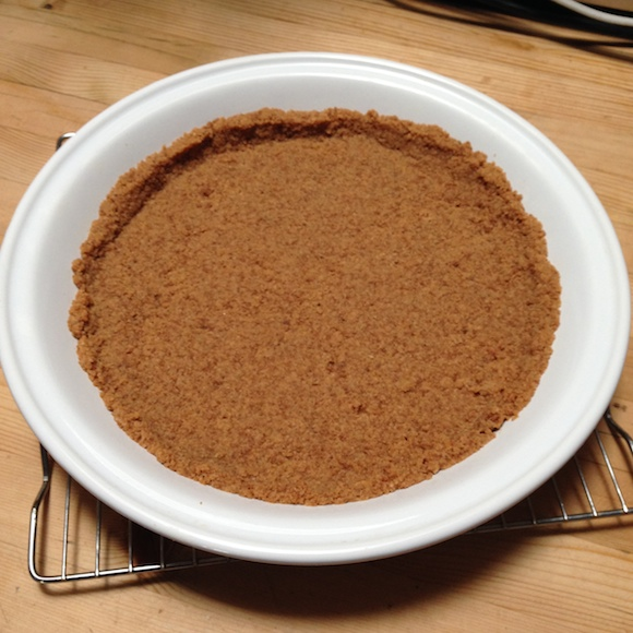 Vanilla Cookie Crumb Crust from Easy As Vegan Pie | Review by Recipe Renovator