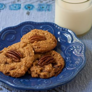 Toffee Pecan Chewies from Twelve Terrific Christmas Cookie Recipes by Recipe Renovator