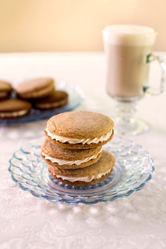 Vanilla Chai  Sandwich Cookies from Go Dairy Free | Month O' Cookies on Recipe Renovator