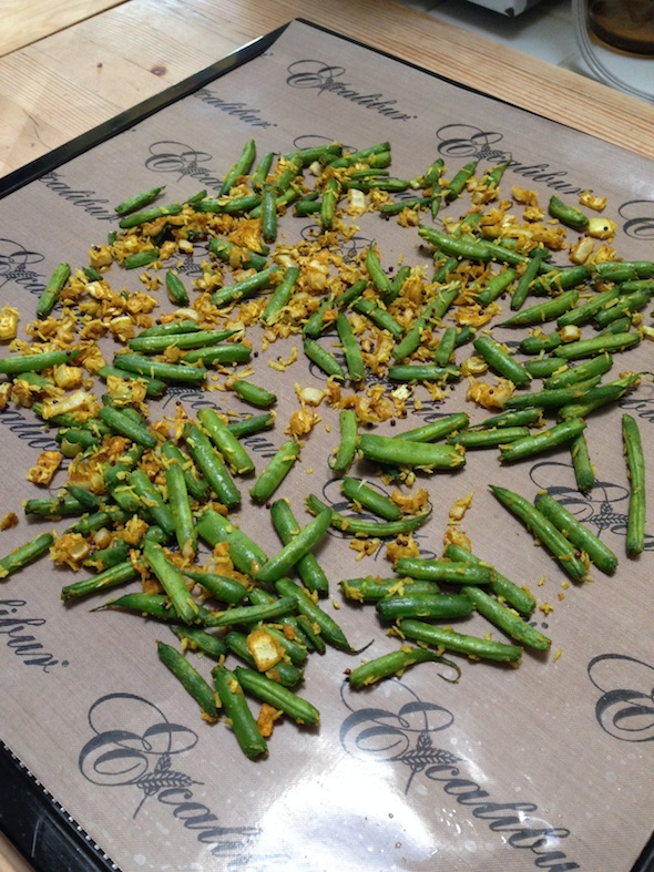 Green Bean Curry from Live Raw Around the World | Review on Recipe Renovator