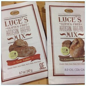Luces GF bread mixes | Product review on Recipe Renovator