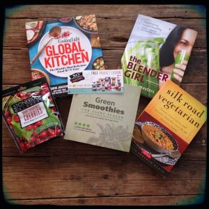 May Giveaway on Recipe Renovator: 4 cookbooks plus Foreman Grill